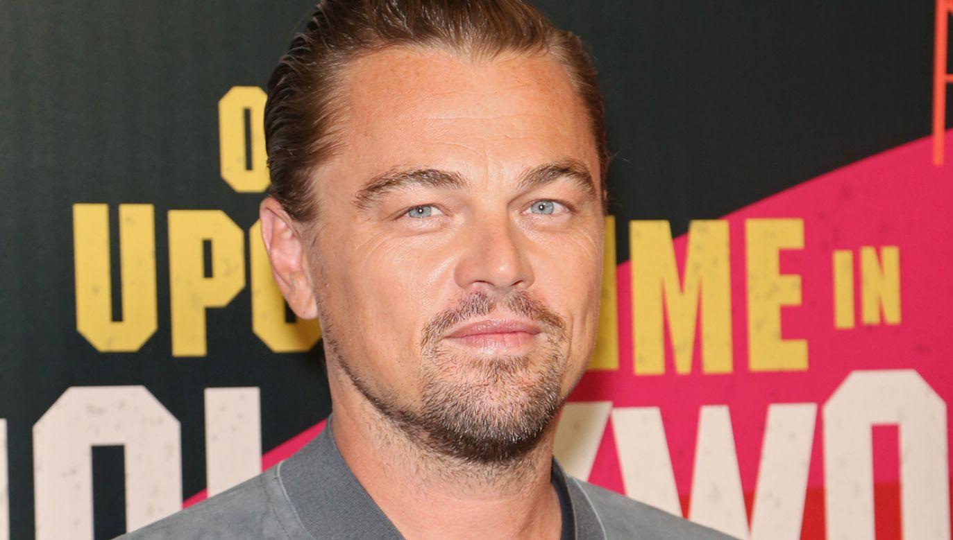 Producentem filmu są: Anna Dobrowolska, Leonardo DiCaprio i jego ojciec George DiCaprio (fot.  Gabe Ginsberg/Getty Images)