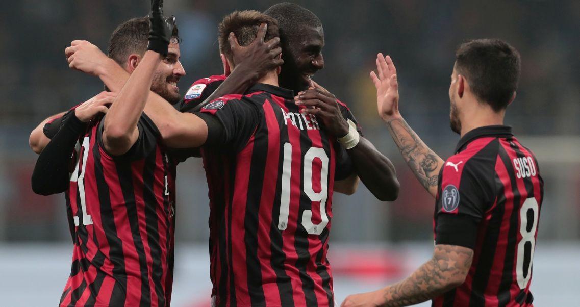 063877296 Krzysztof Piątek i kolejny gol dla AC Milan.