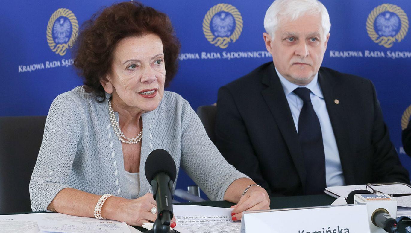 Sędzia Irena Kamińska nie kryje, że chce się mścić na obecnej władzy (fot. arch.PAP/Paweł Supernak)
