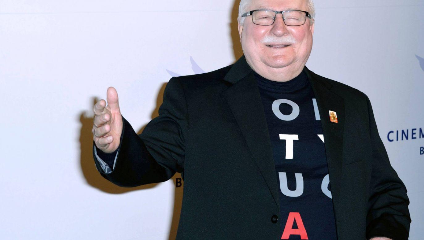 Lech Wałęsa były Prezydent Rzeczypospolitej Polskiej (PAP/ Marechal Aurore/ABACA)