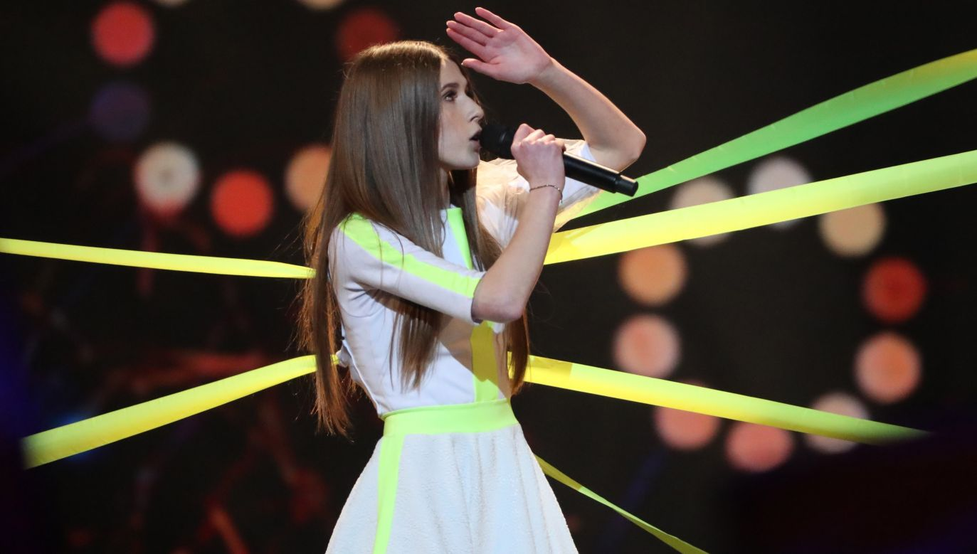 This year's edition of Eurovision was won by 13-year-old Roksana Węgiel. Photo: PAP/EPA/TATYANA ZENKOVICH