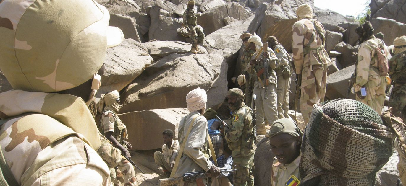 Chadian Army arresting Djihadists in nearby country of Mali. Photo: ROBERT/Corbis/Getty Images