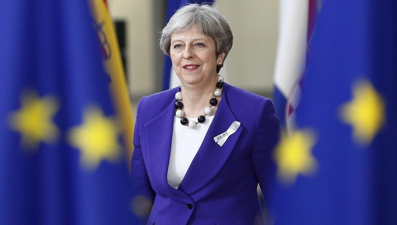 Premier Wielkiej Brytanii Theresa May podczas szczytu przywódców Unii Europejskiej w Brukseli (fot. REUTERS/Francois Lenoir)