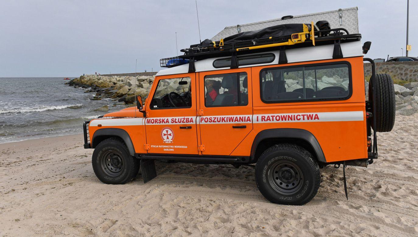 Na Bałtyku trwają poszukiwania zaginionego rodzeństwa (fot. PAP/Marcin Bielecki)