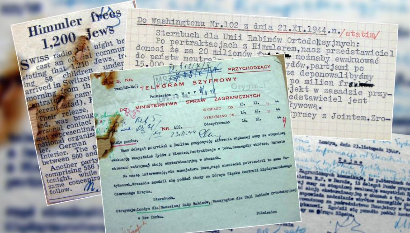 The new document sheds new light on the importance of Polish diplomacy on the shutting down of the chambers in 1944. Photo: tvp.info