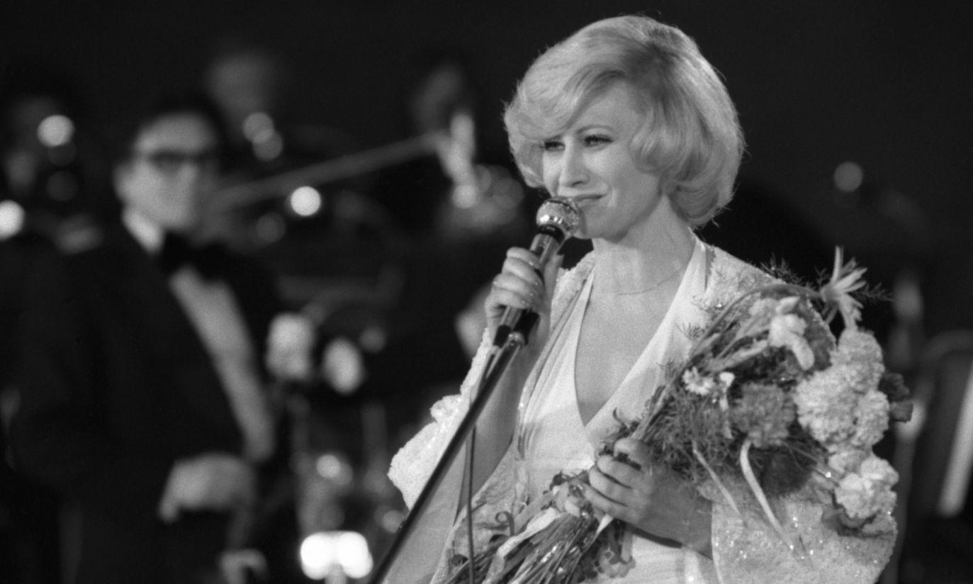 Prawdziwa dama w 1978 r. (fot. TVP)