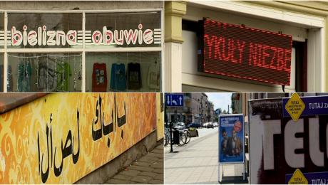 Miasto chce ograniczyć reklamy. Pyta przedsiębioców o zdanie