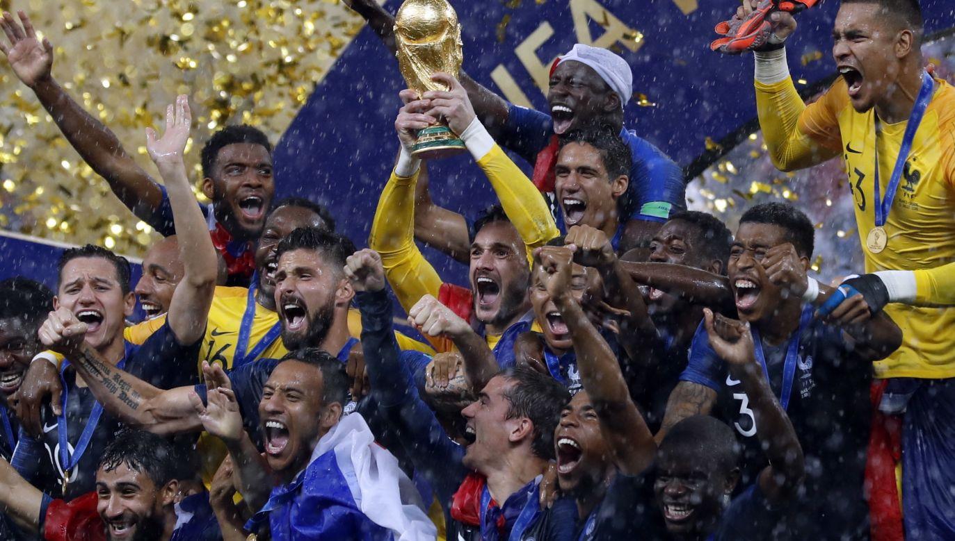 Francuzi po raz drugi w historii zostali mistrzami świata (fot. PAP/EPA)