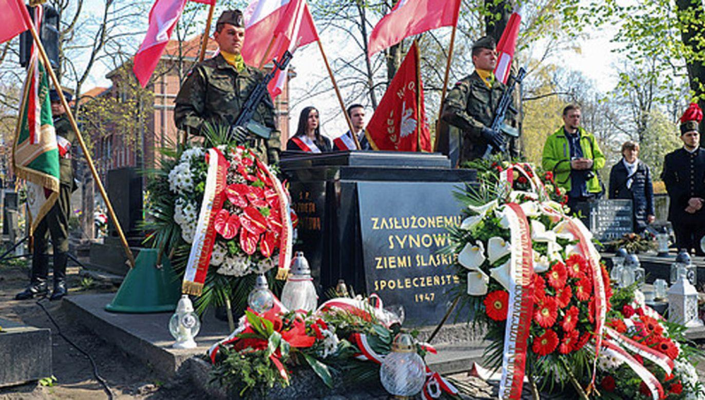 W najbliższą sobotę przypada 146. rocznica urodzin tego Wielkiego Syna Ziemi Śląskiej (fot. KPRP)