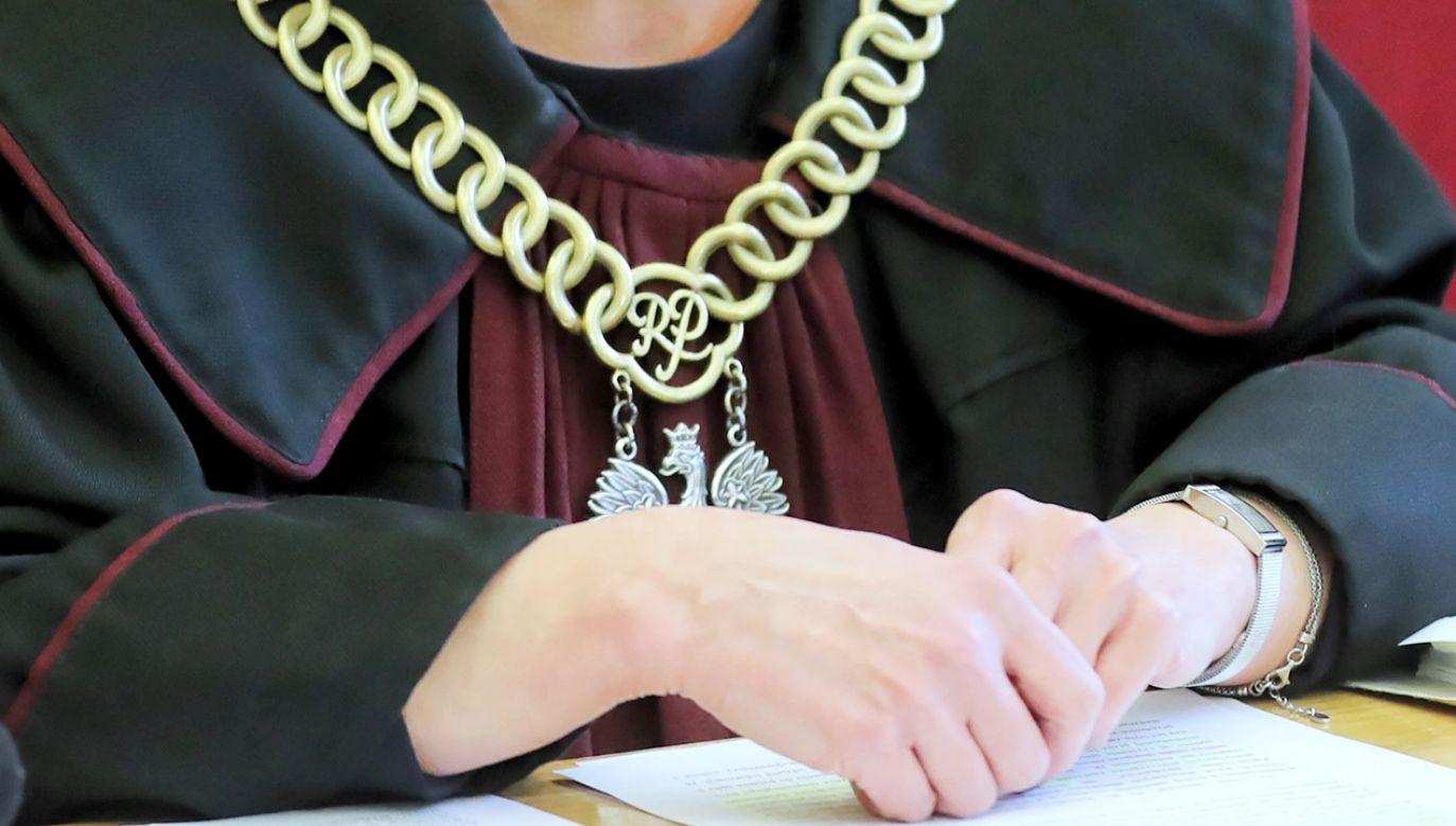 Rzecznik dyscyplinarny przedstawił mu zarzuty uchybienia godności urzędu sędziego i naruszenie zasady apolityczności (fot. PAP/Grzegorz Momot)