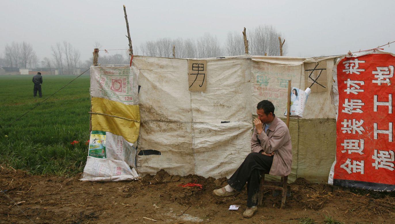 W Chinach minął drugi rok rewolucji toaletowej  (fot. China Photos/Getty Images)