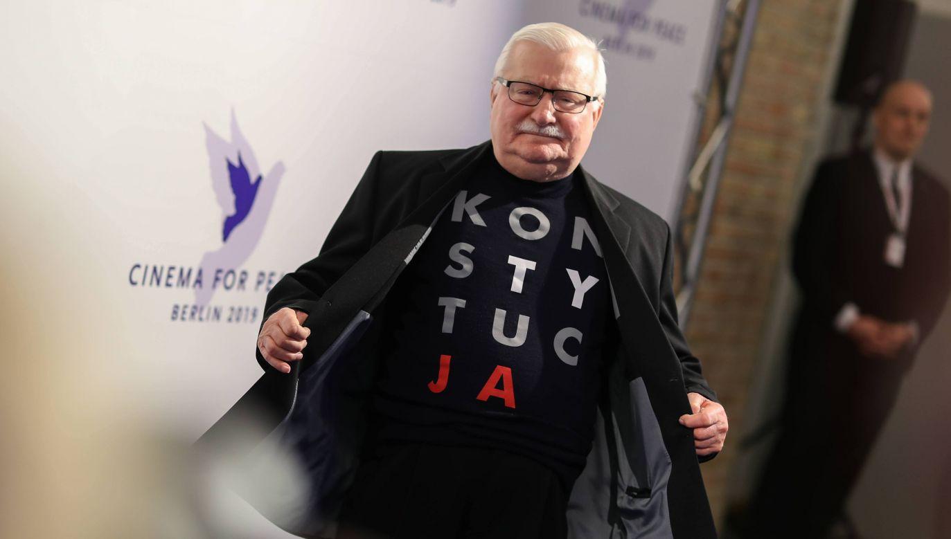 Lech Wałęsa (fot. PAP/ Gerald Matzka)