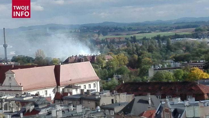 Przyczyny pożaru nie są jeszcze znane (fot. Twoje Info)
