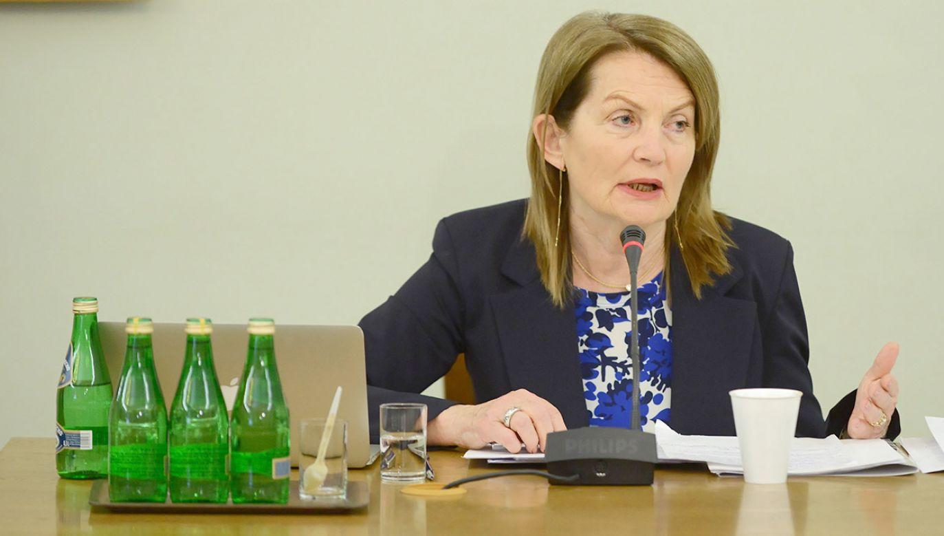 Elżbieta Chojna-Duch (fot. PAP/Jakub Kamiński)