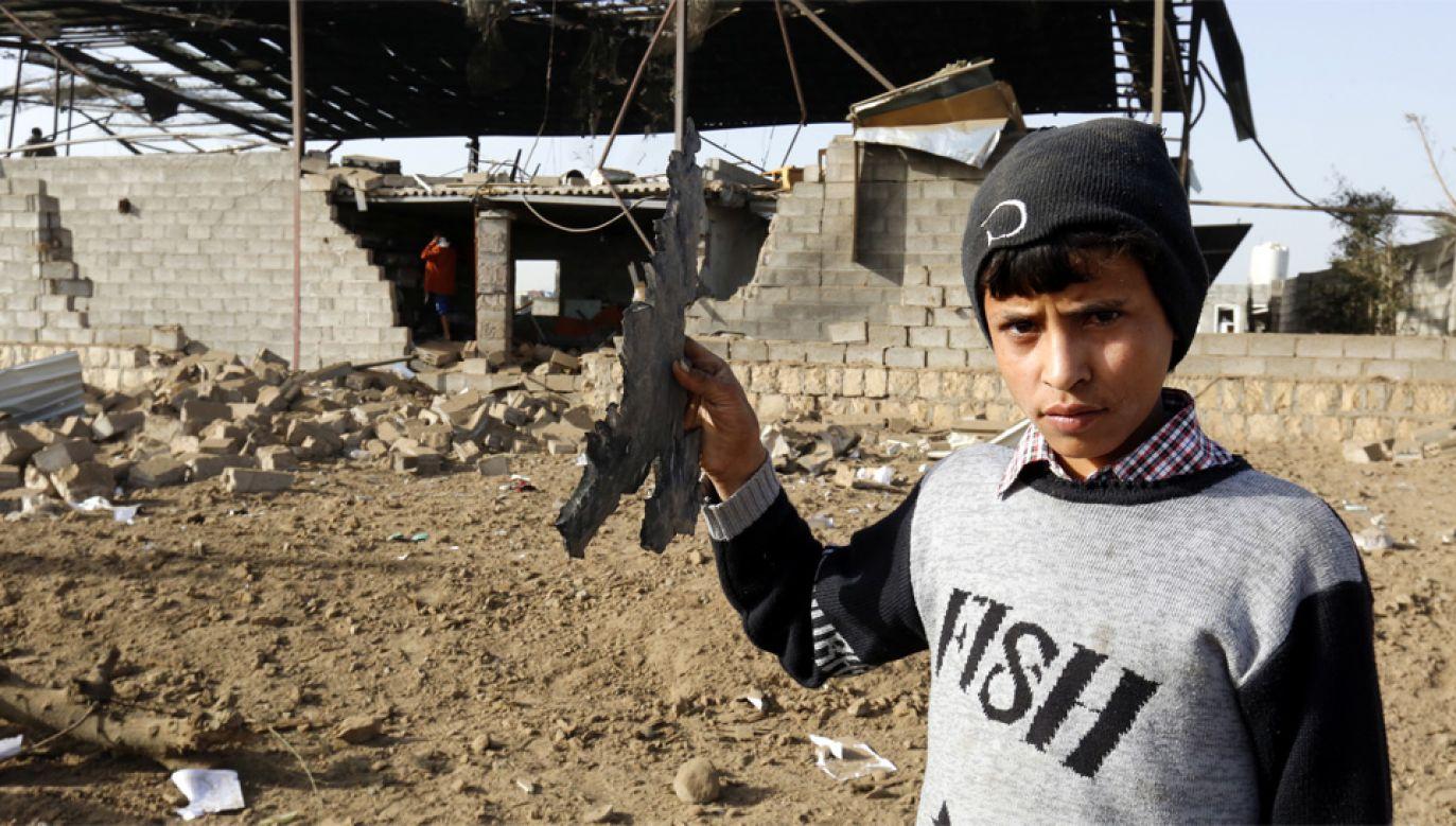 Trwająca od 2015 roku wojna domowa w Jemenie pochłonęła ponad 10 tys. ofiar (fot. PAP/EPA/YAHYA ARHAB)