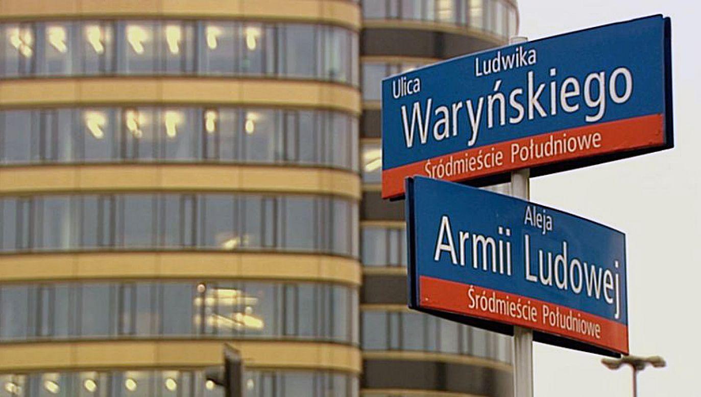 NSA podtrzymał wyrok uchylający zmianę nazw ulic w Warszawie (fot. TVP Info)