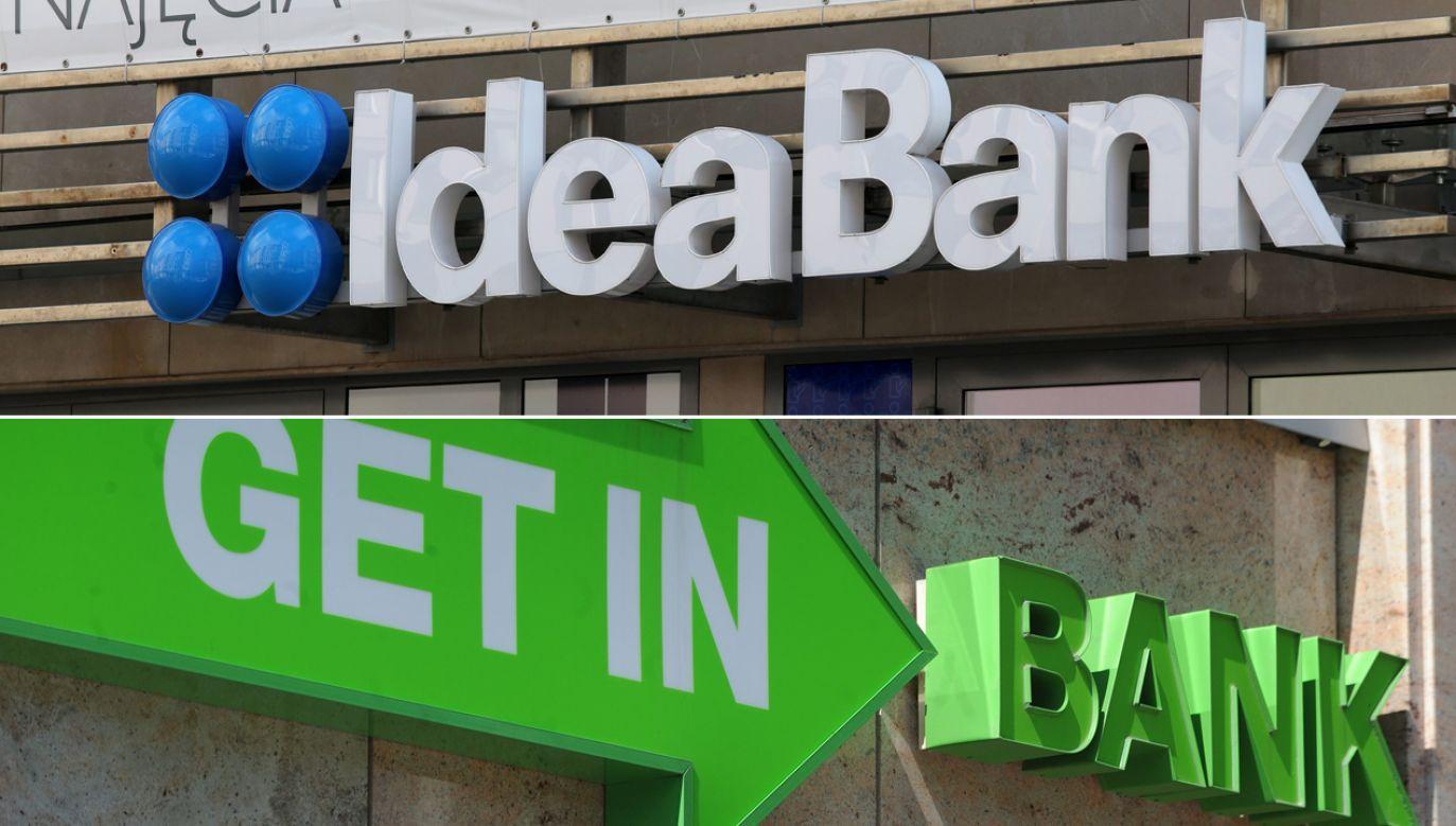 Po godzinie 12 Idea Bank odnotował 16,73-proc. spadek, a akcje Getin Noble Banku zniżkowały o 21,57 proc. (fot. arch. PAP/Tomasz Waszczuk/Szymon Łaszewski)