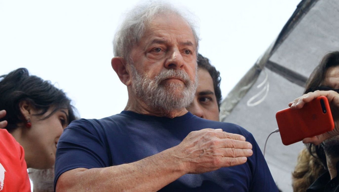 Luiz Inacio Lula da Silva odsiaduje wyrok za korupcję (fot. Fabio Vieira/FotoRua/NurPhoto via Getty Images)