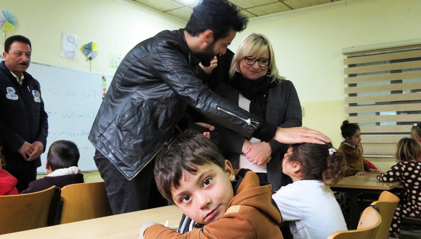 Są dwie filozofie pomagania uchodźcom (fot. PAP/Witold Repetowicz)