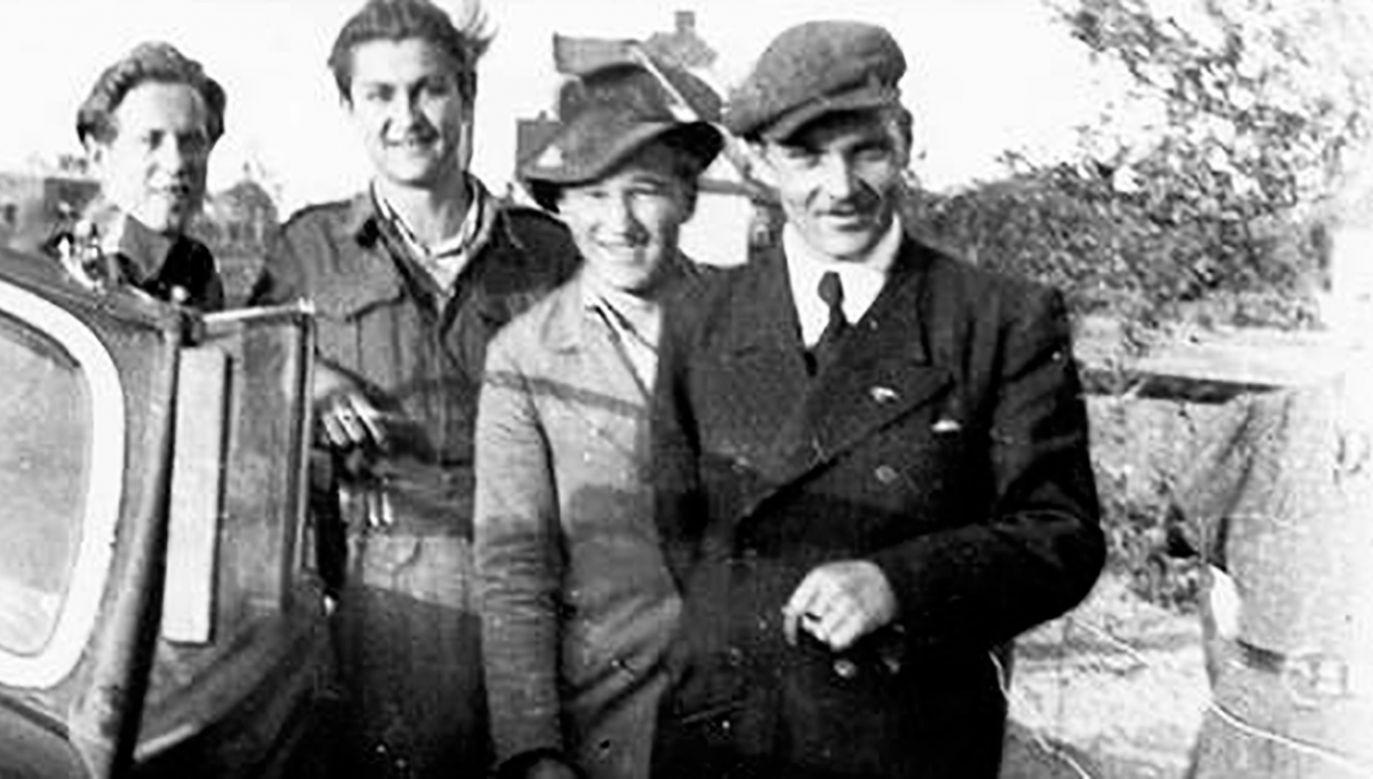Henryk Flame, zdjęcie wykonane po amnestii w 1947 r. (fot. Wikipedia/Trututu)