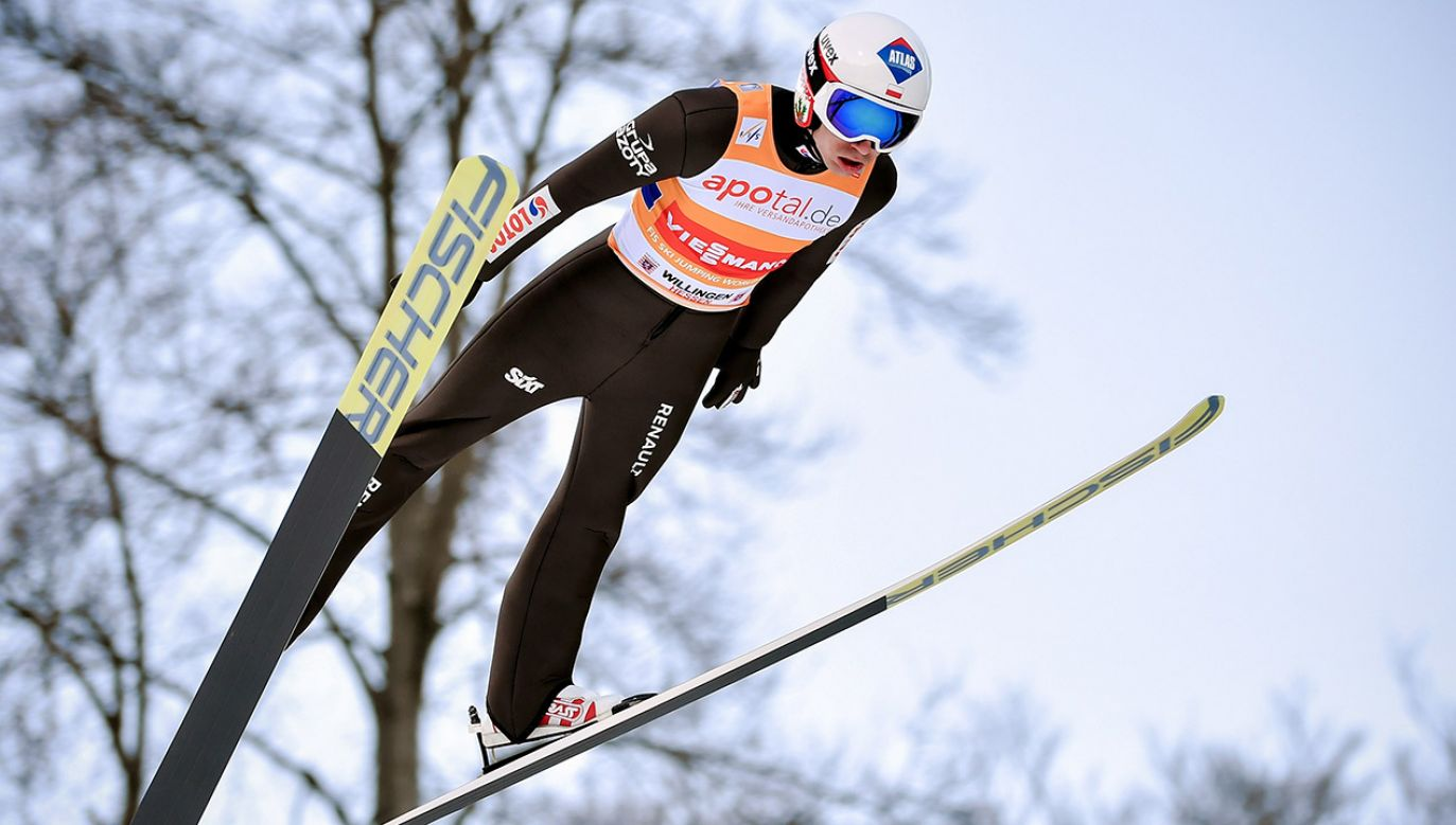 Kamil Stoch (fot. PAP/EPA/ULRICH HUFNAGEL)