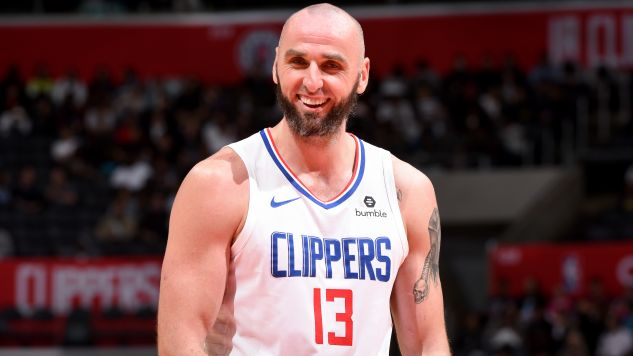 Los Angeles Clippers to czwarty klub NBA w karierze Marcina Gortata (fot. Getty)