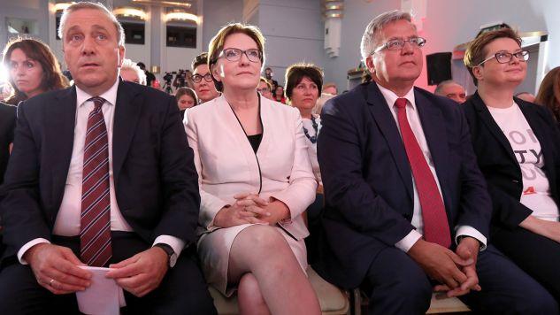 Grzegorz Schetyna powiedział, że jako szef Platformy Obywatelskiej nie przegrał jeszcze żadnych wyborów (fot. PAP/Tomasz Gzell)
