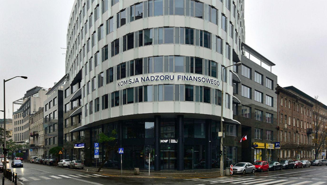 Kontrola NIK dot. m.in. działalności KNF (fot. Wiki/Adrian Grycuk)