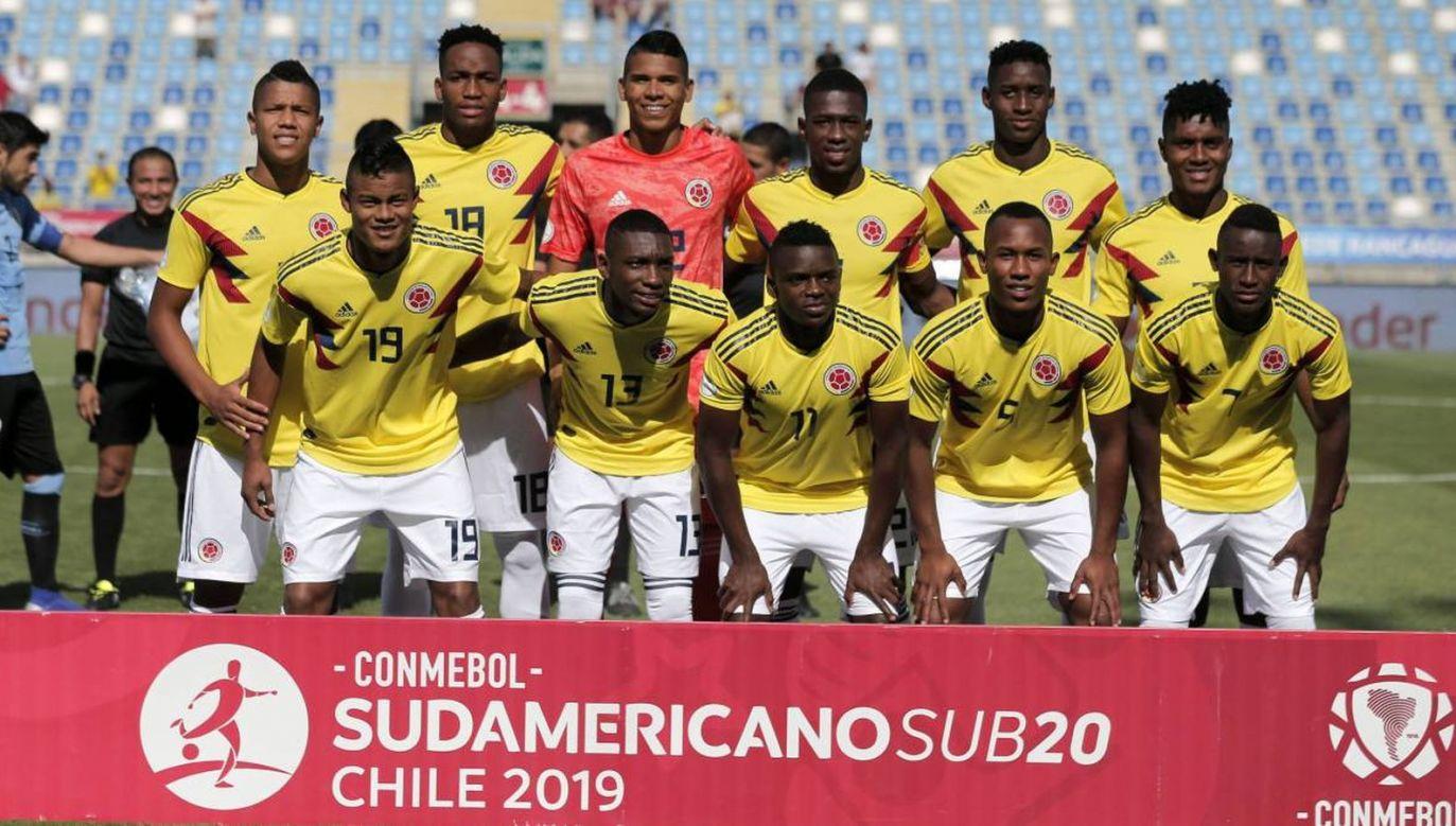 Reprezentacja Kolumbii (fot. Twitter)