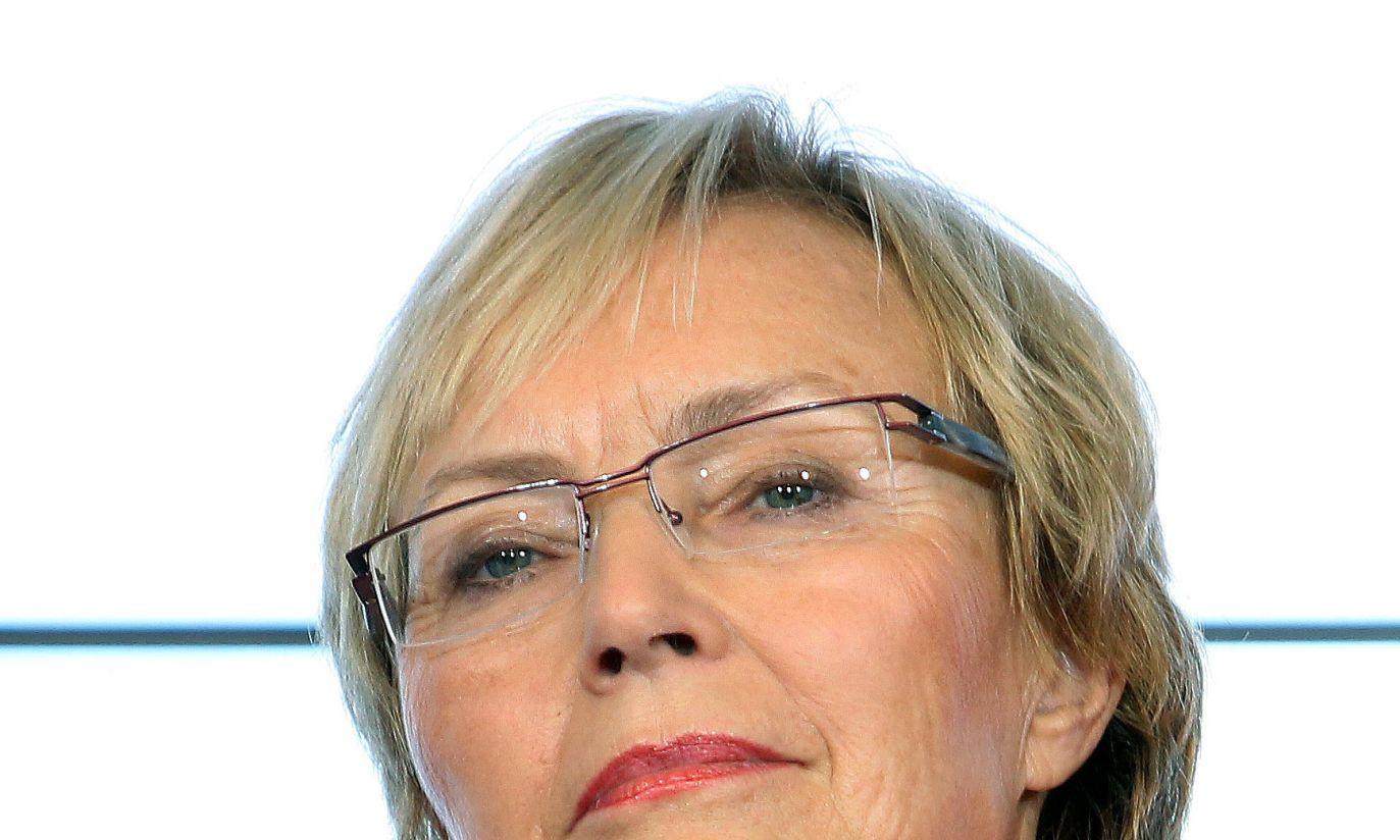 Lena Kolarska-Bobińska, europosłanka PO, to nowa minister nauki i szkolnictwa wyższego (fot.PAP/Radek Pietruszka)