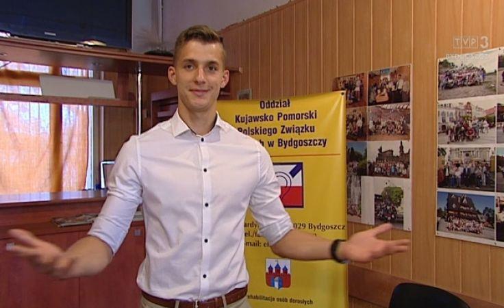 Mateusz Borowski najprzystojniejszym niesłyszącym mężczyzną świata