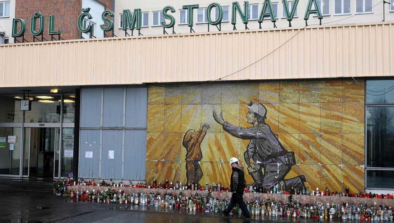 20 grudnia ubiegłego roku wybuch metanu zabił w czeskiej kopalni 13 górników, w tym 12 Polaków (fot. arch. PAP/Andrzej Grygiel)