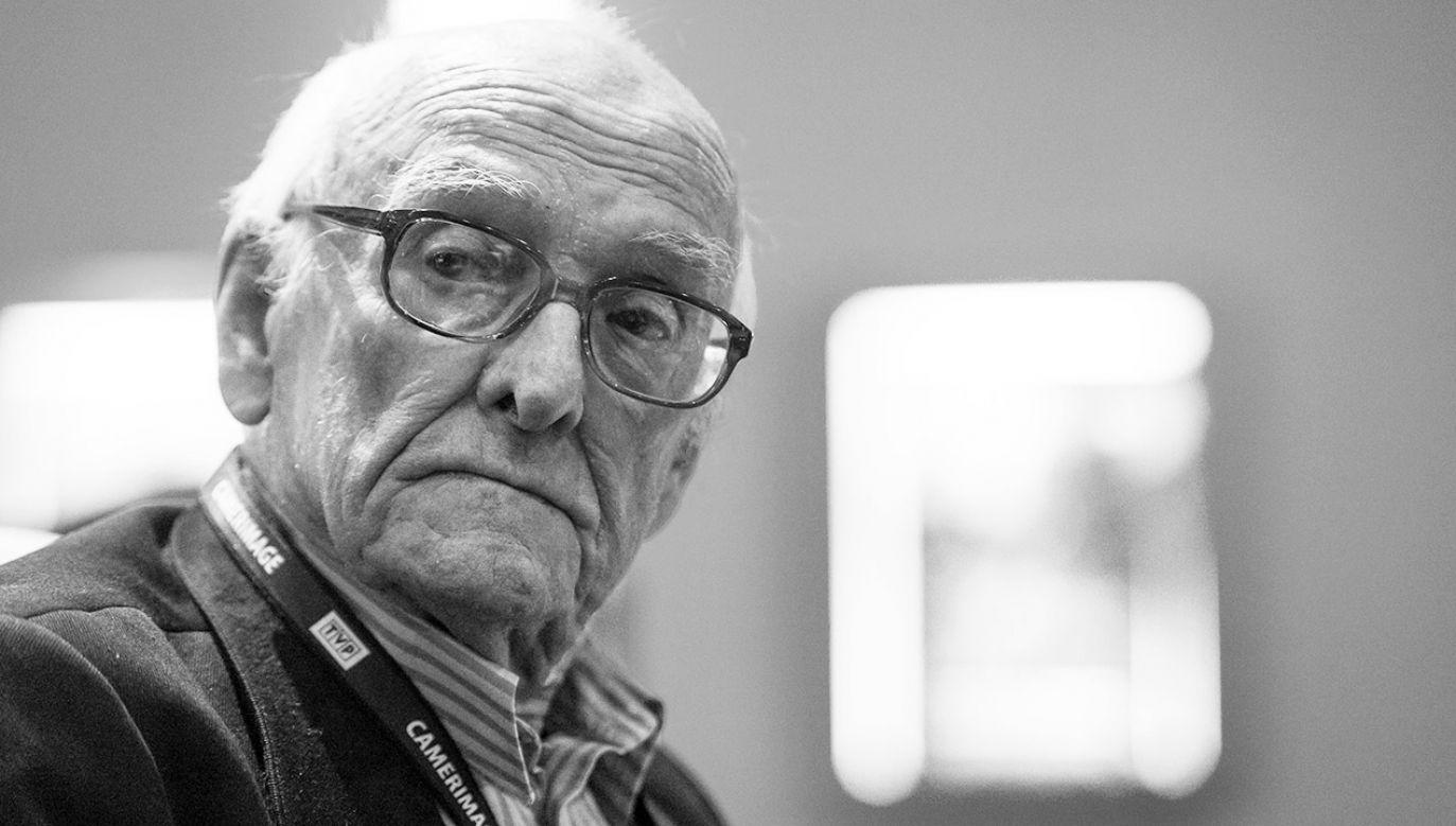 Witold Sobociński zmarł w wieku 89 lat (fot. arch.PAP/Tytus Żmijewski)