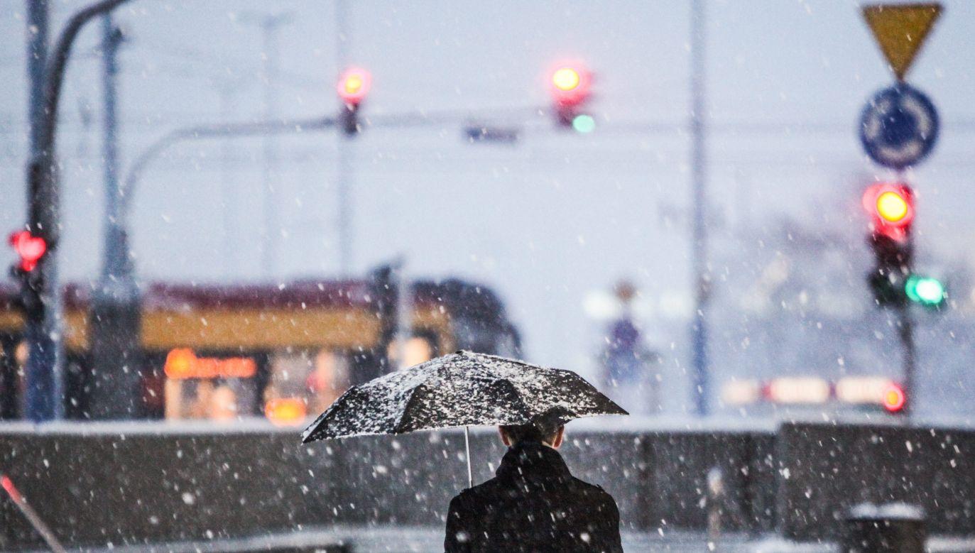 W niedzielę w wielu miejscach Polski spadnie pierwszy śnieg (fot. arch. PAP/Jakub Kamiński)