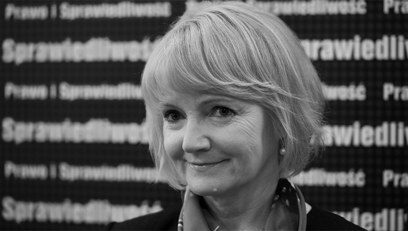 Jolanta Szczypińska była posłem od 2004 roku (fot. PAP/Adam Warżawa)