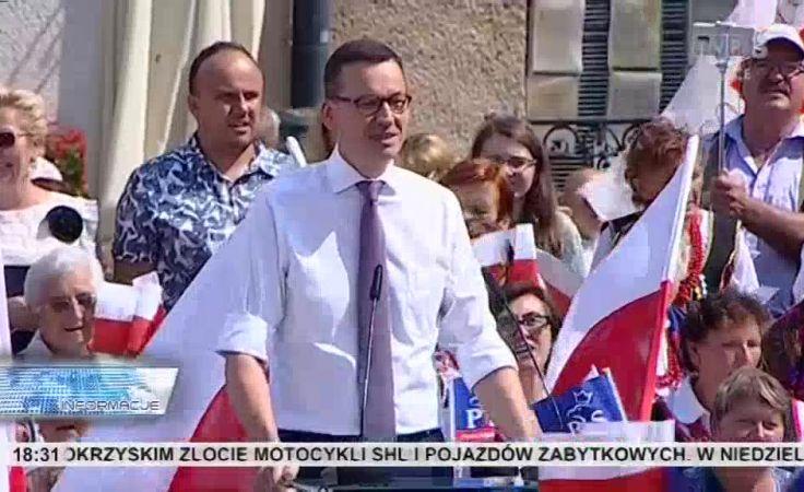 Konwencja PiS. Premier Morawiecki o Planie dla wsi