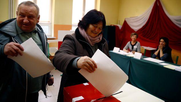 Sejm pracuje nad zmianami w ordynacji wyborczej (fot. REUTERS/Kacper Pempel)