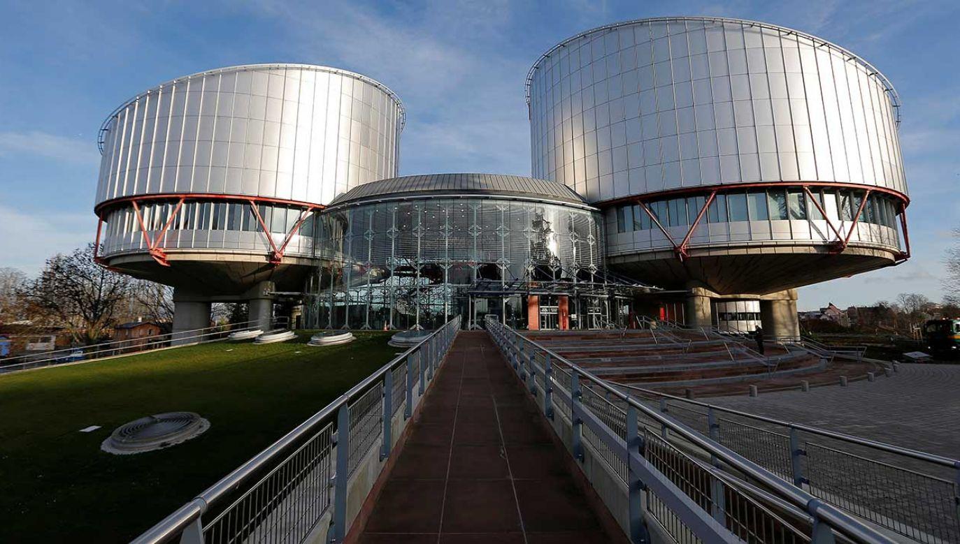 Siedziba Trybunału Praw Człowieka w Strasburgu (fot. REUTERS/Vincent Kessler)