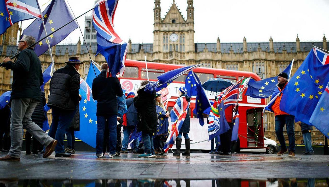 Orzeczenie wydane przez TSUE wzmacnia obóz opowiadających się za pozostaniem Zjednoczonego Królestwa w UE (fot. REUTERS/Henry Nicholls)