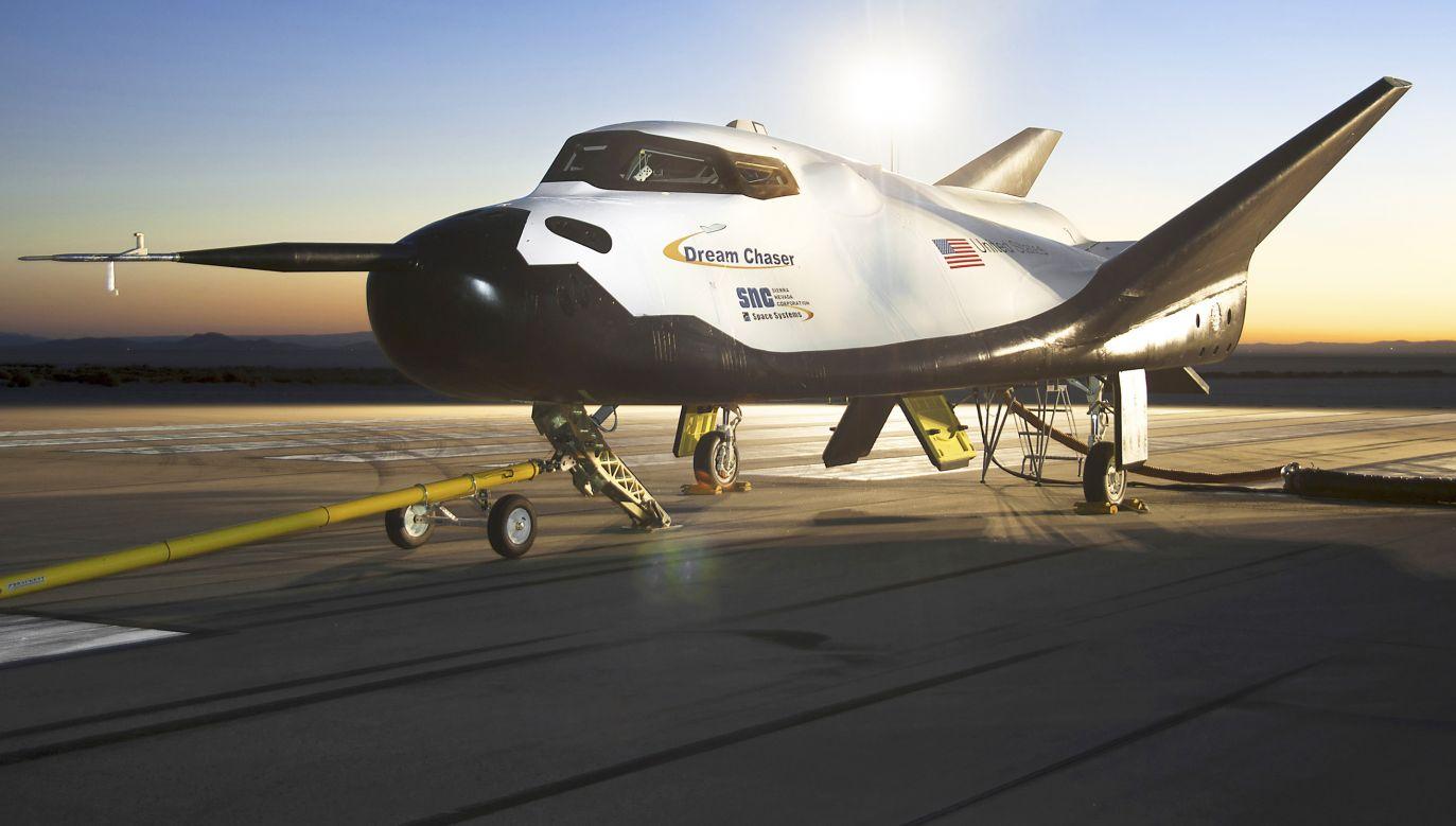 Dream Chaser będzie zaopatrywać Międzynarodową Stację Kosmiczną być może już w 2020 roku (fot. REUTERS/NASA/Ken Ulbrich/Handout via Reuters)
