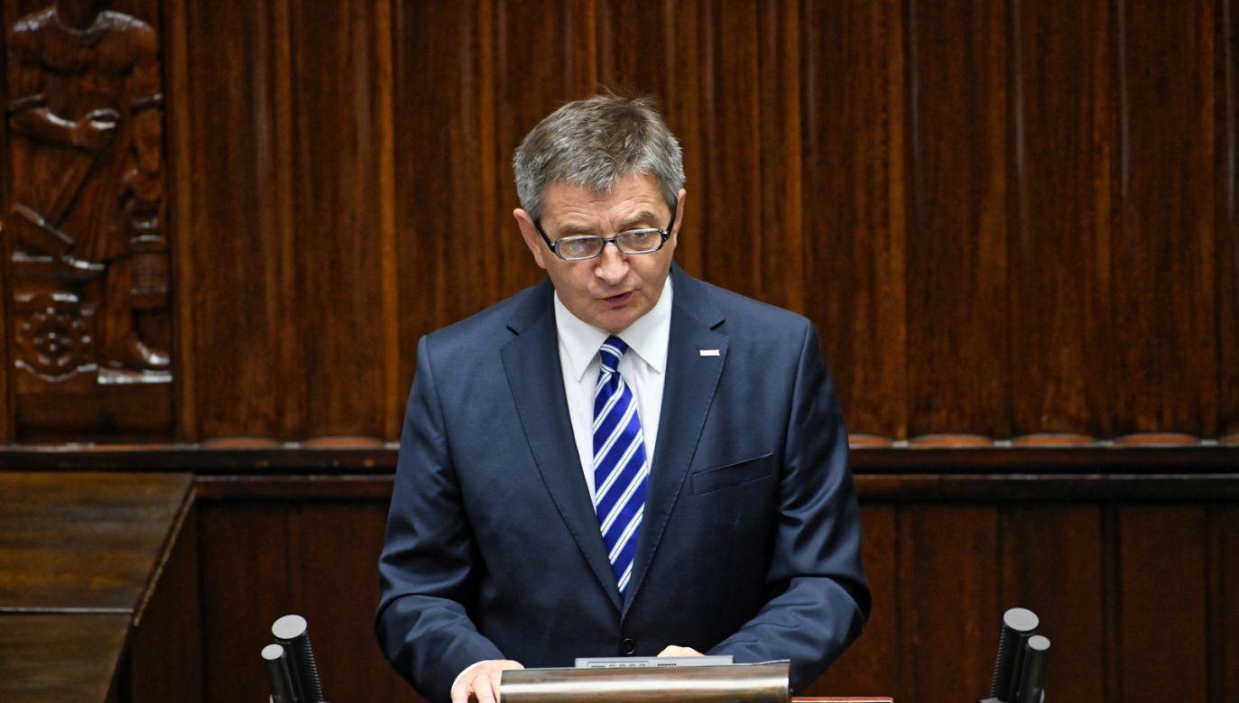 Marszałek Sejmu Marek Kuchciński (fot. PAP/Jacek Turczyk)