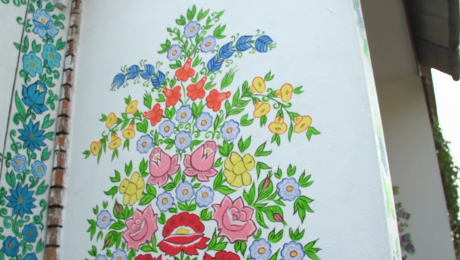 Kwiaty wyobraźni i Wielkanoc jak malowanie