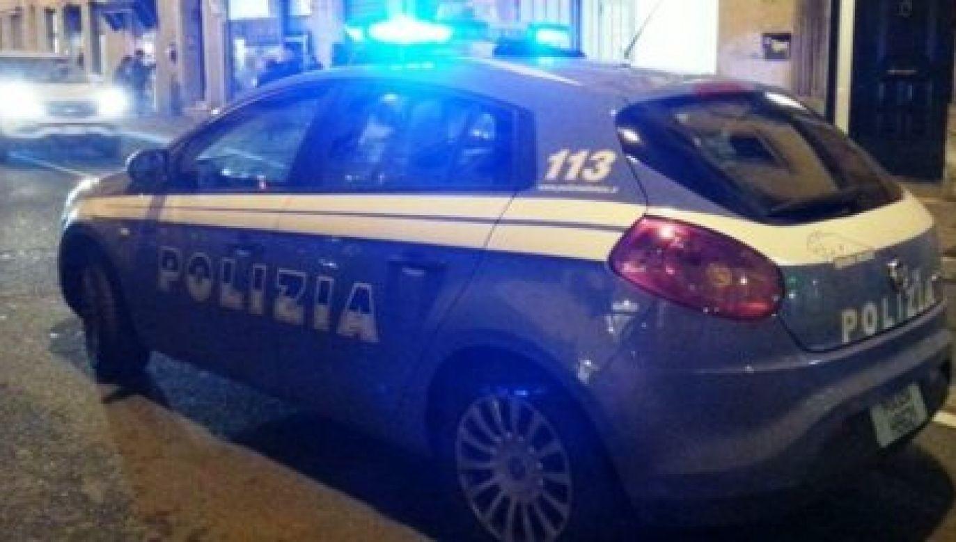 Policja aresztowała 83-letniego mężczyznę, który strzelał do trzech osób (Fot. Facebook/ Polizia di Stato)