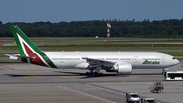 Odwołano ok. 200 lotów włoskiej linii  (fot. wikipedia.org/ Anna Zvereva)