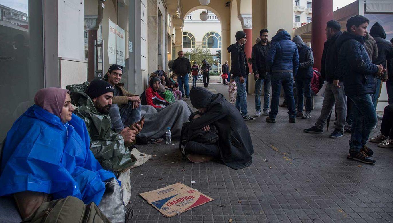 """Bułgaria zajęła """"twarde stanowisko"""" wobec masowej migracji do Europy, zamykając granicę z Turcją drutem kolczastym (fot. Nicolas Economou/NurPhoto/Getty Images)"""