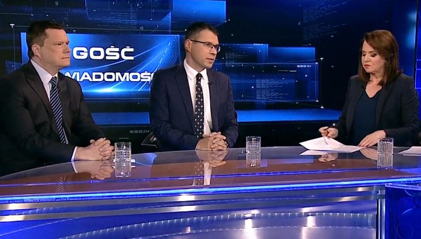 Nowelizacja ustawy o Sądzie Najwyższym została podpisania przez prezydenta Andrzeja Dudę (fot. TVP info)