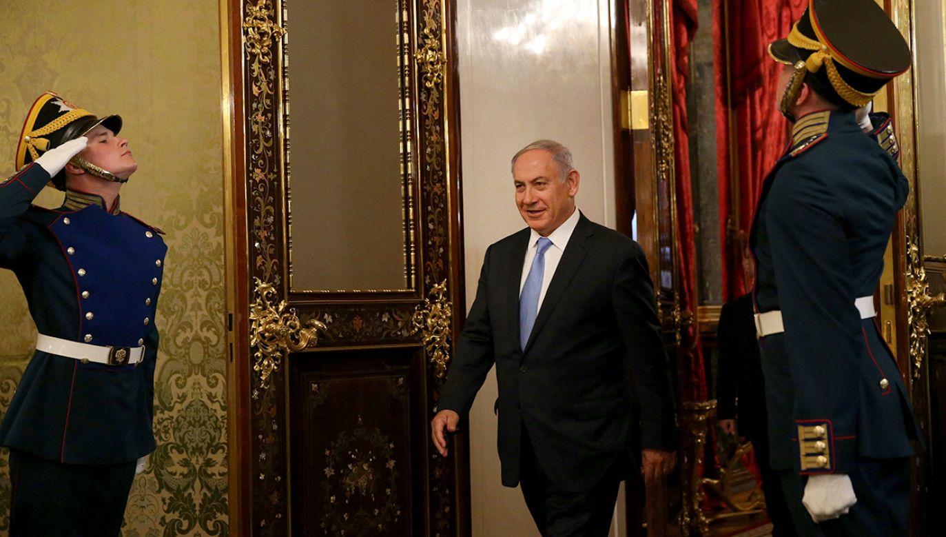 Odroczenie wizyty Netanjahu miało być uzgodnione przez obie strony (fot. Mikhail Svetlov/Getty Images)