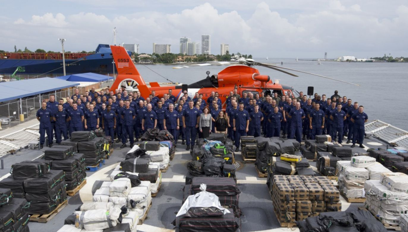 W operacji uczestniczyło kilkanaście kutrów amerykańskiej straży granicznej (fot.  U.S. Coast Guard)