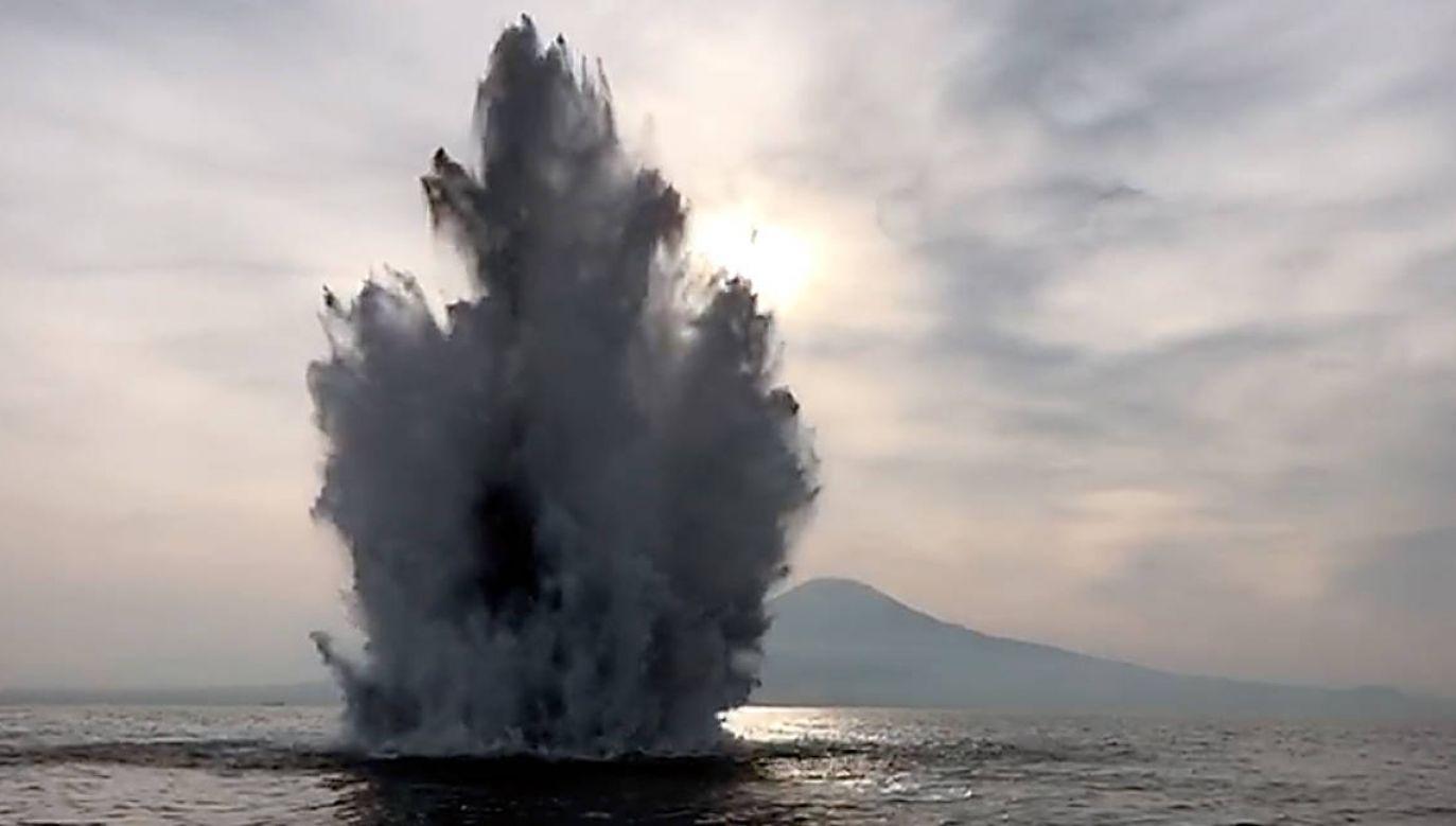 W okolicach portu w Neapolu znaleziono materiały wybuchowe z II wojny światowej (Fot. Marina Militare)