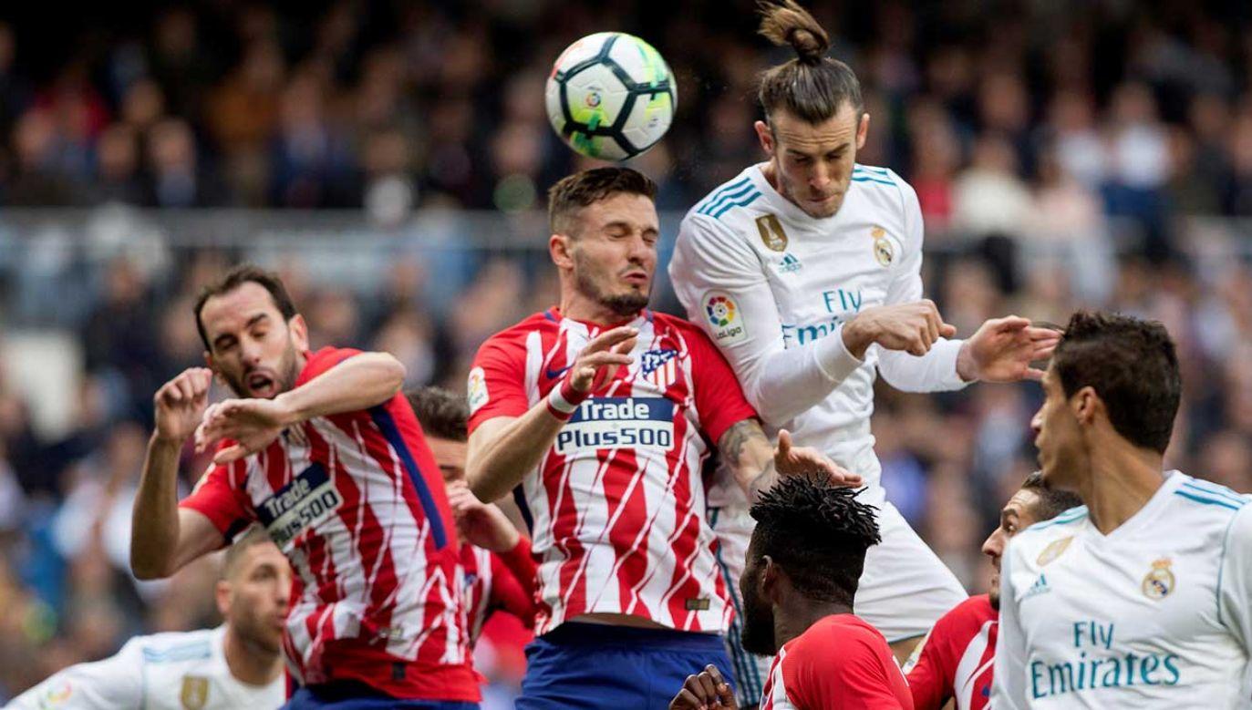 Do tej pory Real wygrał cztery mecze o Superpuchar Europy, a Atletico – dwa (fot. arch. PAP/EPA/Rodrigo Jimenez)